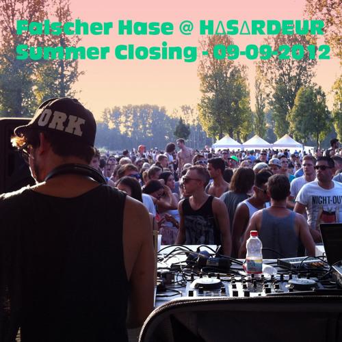 Falscher Hase at H∆S∆RDEUR Summer Closing - 09-09-2012