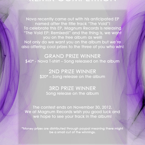 The Void Remix Competition