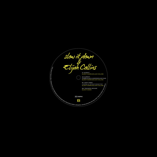 RETRO008 - Slow It Down & Elijah Collins - Alright E.P.