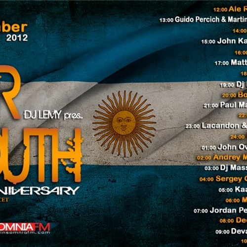 Boral Kibil - Guest Mix For Far South 1st anniversary - by DJ Lemy on Insomnia FM