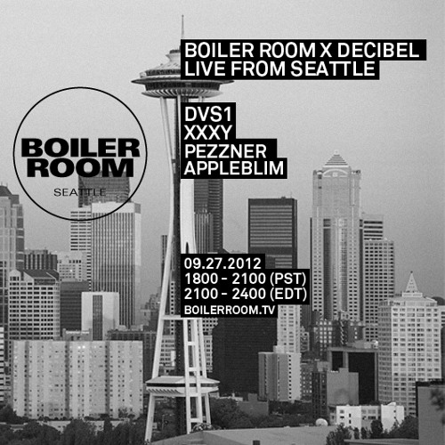 Appleblim 40 min Boiler Room DJ Set at Decibel Festival