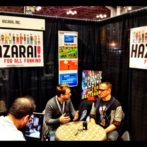 Interview: Cory Doctorow at NYC Comic Con