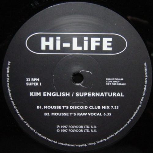 Kim English - Supernatural (Mousse T.'s Raw Dub)