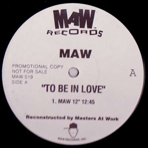 MAW - To be in love (Fulvio Perniola 2013 Anthem Mix) (Snippet)