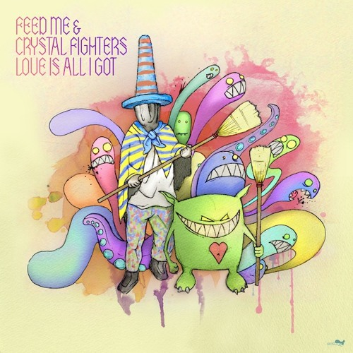 "Feed Me & Crystal Fighters - ""Love Is All I Got"" (Larse Remix)"