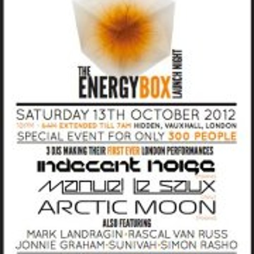 Trance Together Energy Box Oct 2012 LIVE RECORDING