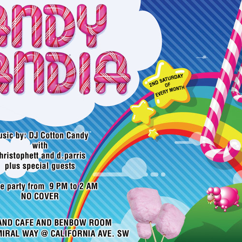 Candylandia October mix