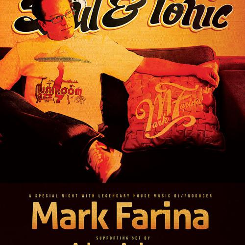 Adam Auburn - Live w Mark Farina | Soul & Tonic @ King King (Oct 13, 2012)