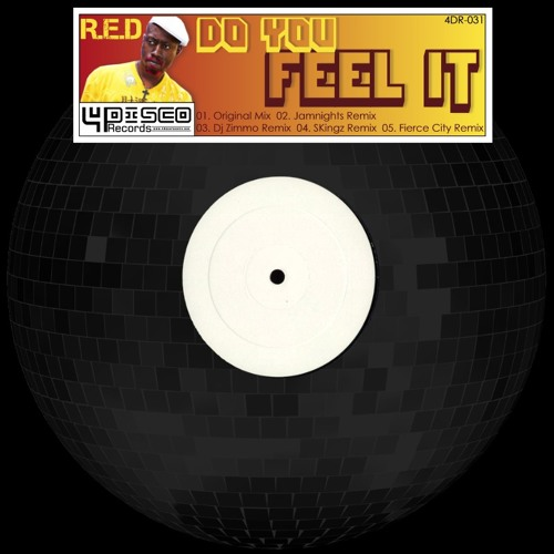 4DR031- RED- Do you feel it (OUT NOW!!)
