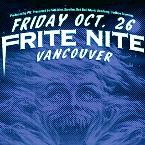Frite Nite Vancouver Promo Mix - October 2012