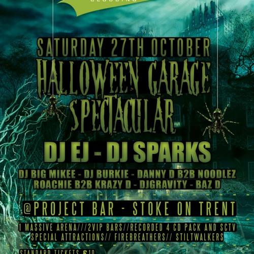 DJ EJ - Swish Old School Garage Halloween Promo 2 (Oct '12) UKG