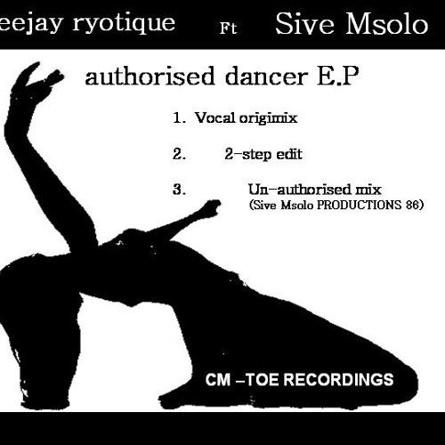 Sive Msolo and ryotique - Authorised dancer - (souljamz' rtevisit)