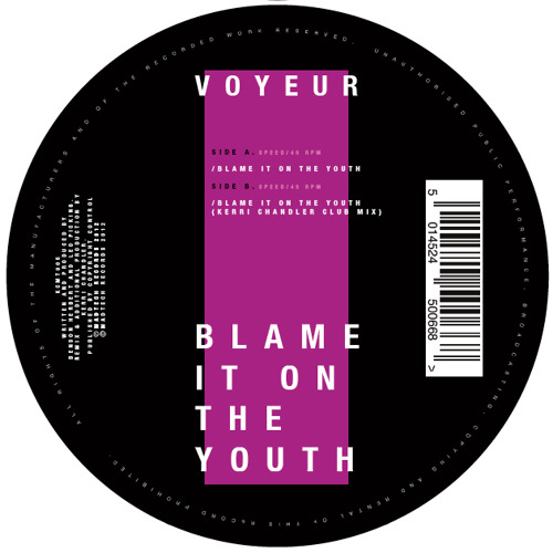 Blame It On The Youth (Kerri Chandler Club Mix)