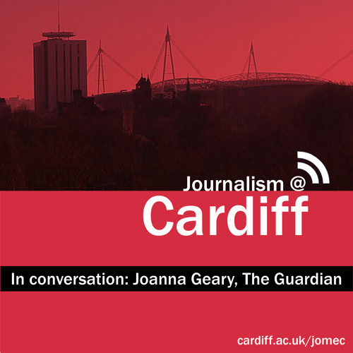 In conversation with The Guardian's Joanna Geary