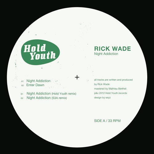 Hold Youth 005 Rick Wade - Night Addiction (S3A Remix)