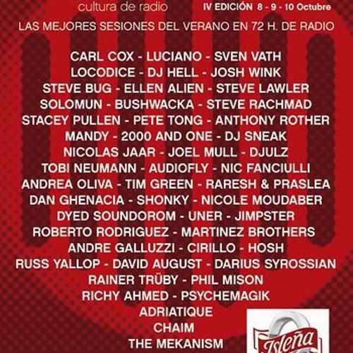 DJ Sneak @ Ibiza Sonica Radio Festival - 08 October 2012 by DJ SNEAK