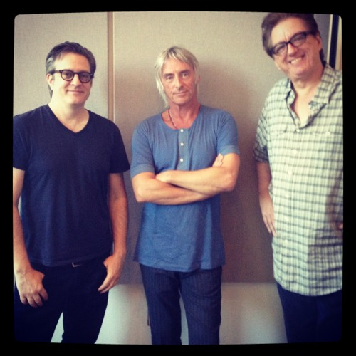 Paul Weller in-studio 88.5 KCSN with Sky Daniels