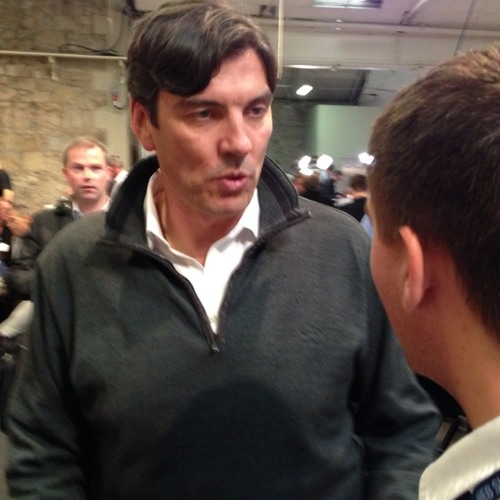 AOL CEO Tim Armstrong talks to me about the Age of Context that is coming to us quickly. at Web Summit