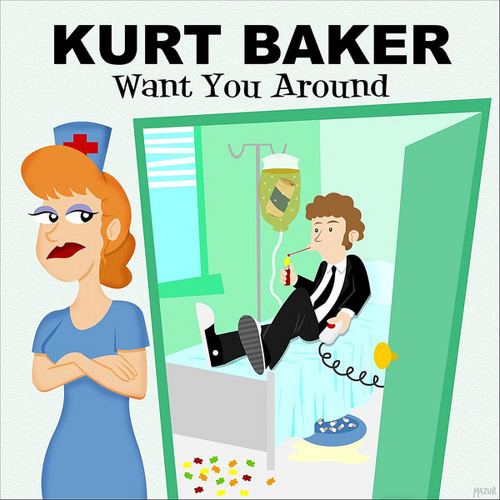 "Kurt Baker ""Sleeping With The Television On"""