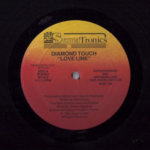 """Love Line"" (Vocal Club Mix) Diamond Touch (1985) - Producer: Mitch Race"