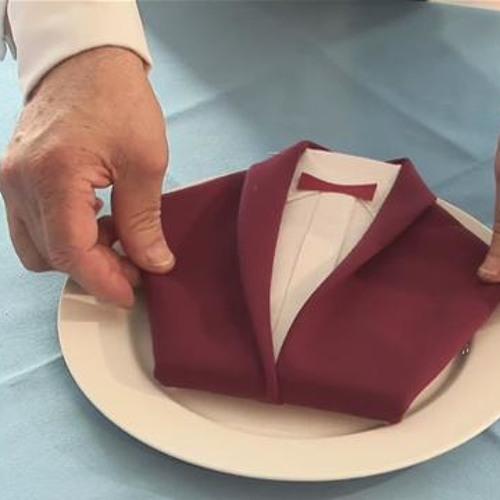 Napkin Suit - Work in Progress