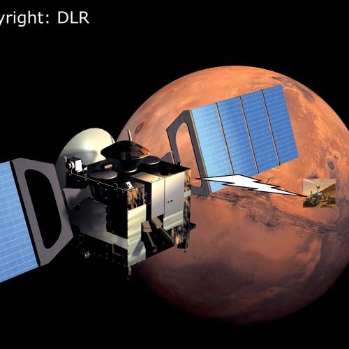 Curiosity ruft MarsExpress