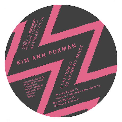 Needw024, Kim Ann Foxman, Return It