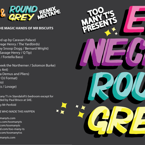 Earl Necks & Round Grey - Remix Mixtape *Full 40-min Mix* (MP3)