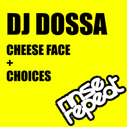 DJ Dossa - Cheese Face [RINSE001] - RELEASE 10TH JANUARY 2013