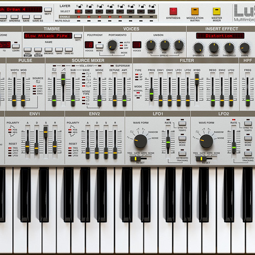 LuSH-101 - Included Oliver Chesler aka The Horrorist Presets