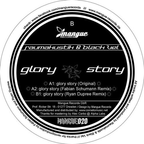 Raumakustik&Black Vel - Glory Story-Ryan Dupree Remix - OUT NOW -BuzzVinylChartsTOP100 :2 deejay.de