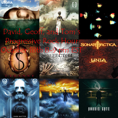 WUTC Progressive Rock Hour 10-18-2012