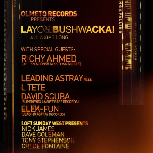 David Scuba live at Egg, London - October 6, 2012