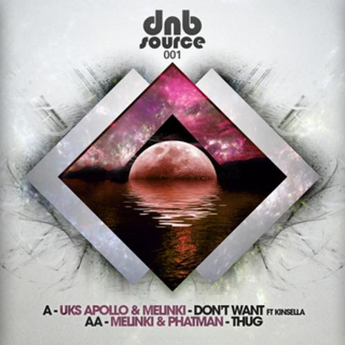 DNBSOURCE 001B - Melinki & Phatman - ' Thug ' (Released 5/11/12)