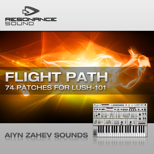 "D16 LuSH-101 Soundbank - ""Flight Path"" (includes MIDI)"