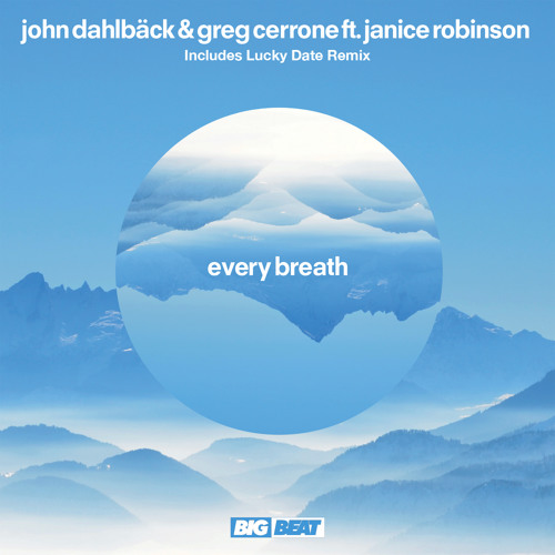 John Dahlback & Greg Cerrone Ft. Janice Robinson - Every Breath (LUCKY DATE REMIX)