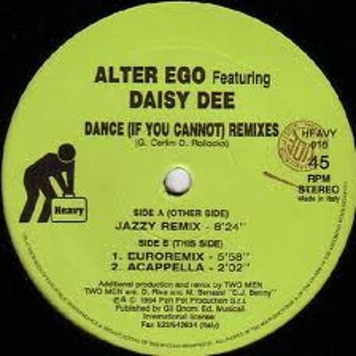 Alter Ego Feat. Daisy Dee - Dance If U Canot (Icy Sasaki & Simple Jack Bootleg)