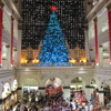 End of Christmas Light Show in the Wanamaker Building, with the Pipe Organ Roaring in