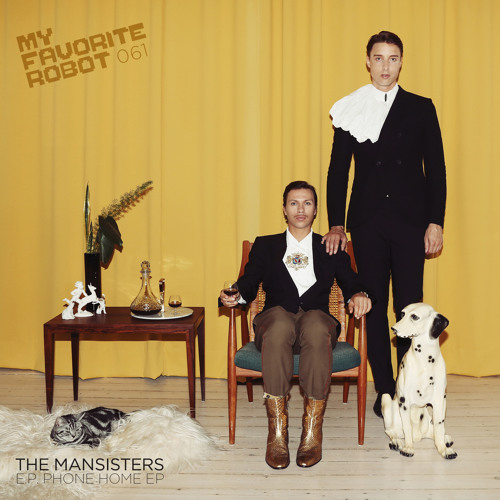 MFR061 - The Mansisters - iZone - My Favorite Robot Records