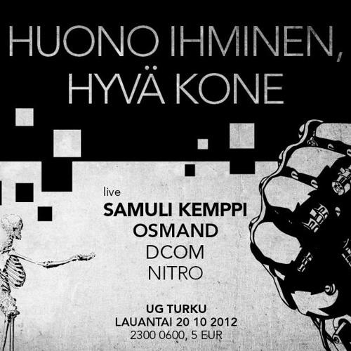 Samuli Kemppi - Live PA @ Turku UG