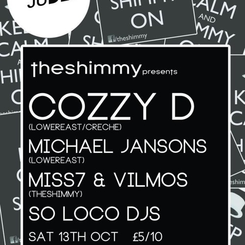 Vilmos @ The Shimmy, Cozzy D (October 2012)