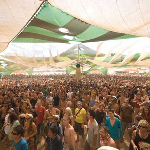 Dick Trevor DJ set @ Dance Temple - Boom Festival 2010