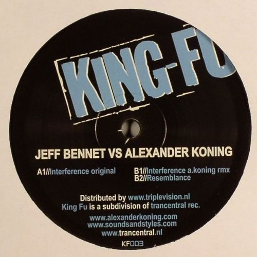 Jeff Bennett - Interference - King Fu Rec