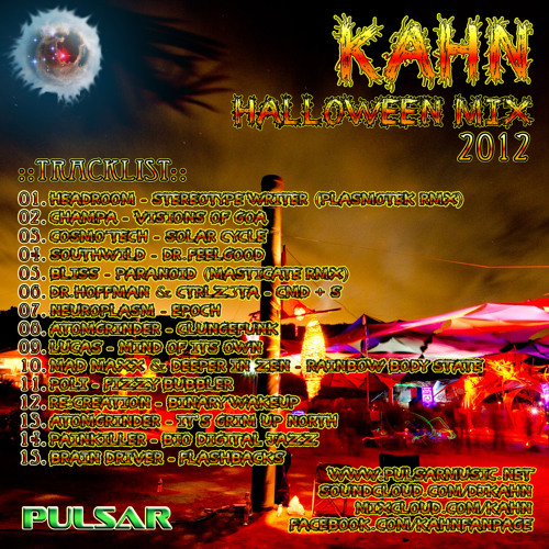 KAHN - HALLOWEEN MIX 2012