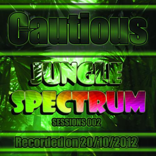 DJ Cautious - Jungle Spectrum Sessions 002 - Studio Mix