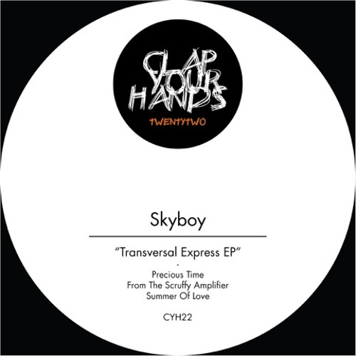 Skyboy - From The Scruffy Amplifier (Original Mix) CYH22 Snippet / OUT NOW