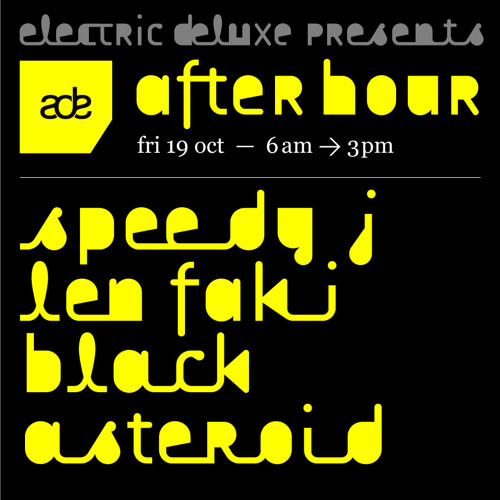blackasteroid ADE DJ set- part 1