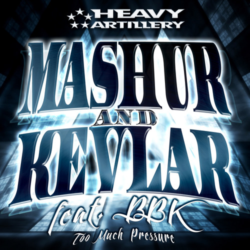 3. Mashur & Kevlar Feat MC BBK - Too Much Pressure (Artem Zlobin Remix) out now!