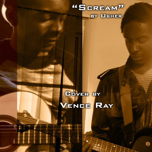 Usher - Scream [Vence Ray Guitar Cover] (Video link in description)