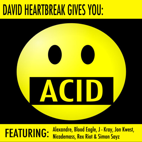 "Jon Kwest - Borg (ft. on ""David Heartbreak Gives You: Acid"")"
